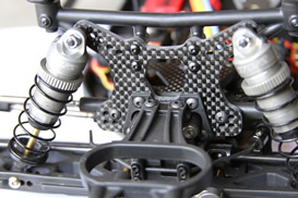 Jammin Front Shock Tower for the Losi SCTE Ten 2.0